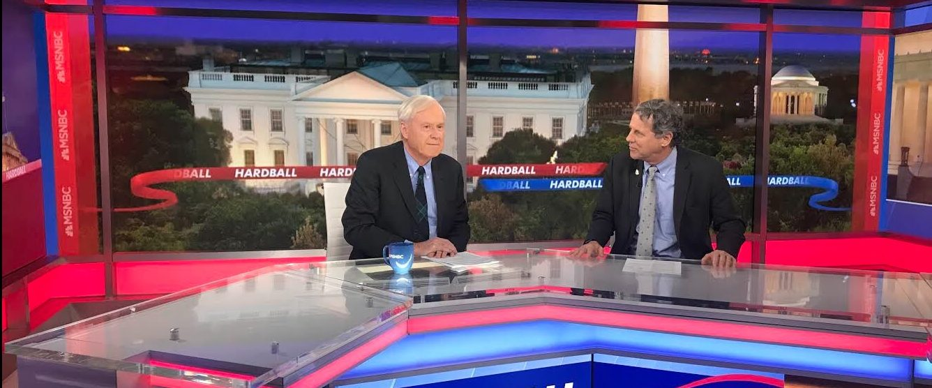 Image for Sherrod on Hardball: We fight for the people who make this country work.